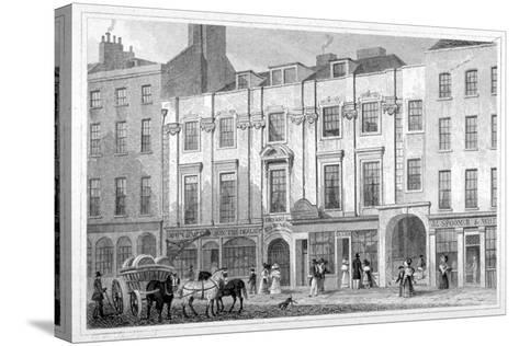Shaftesbury House, Aldersgate Street, City of London, 1830-Thomas Hosmer Shepherd-Stretched Canvas Print