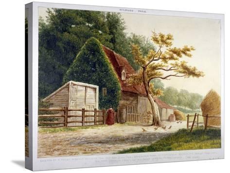 Farm in Kilburn Park, Edgware Road, Paddington, London, C1865--Stretched Canvas Print