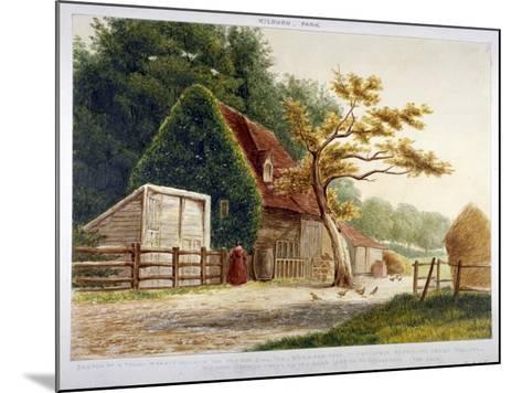 Farm in Kilburn Park, Edgware Road, Paddington, London, C1865--Mounted Giclee Print