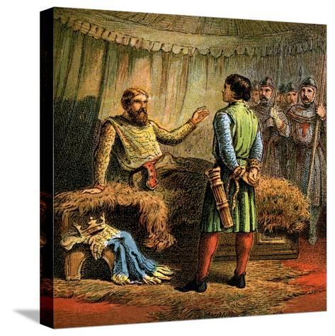 Death of Richard the First, 1199--Stretched Canvas Print