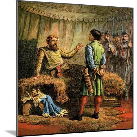 Death of Richard the First, 1199--Mounted Giclee Print