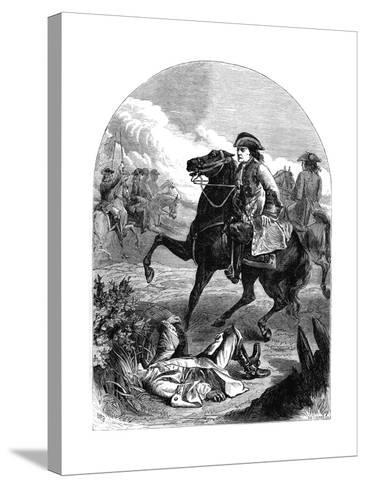 The Narrow Escape of Marlborough, 18th Century--Stretched Canvas Print
