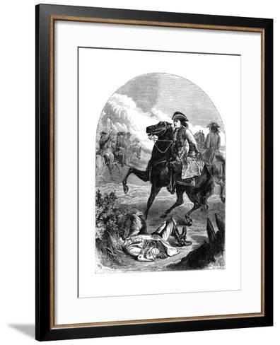 The Narrow Escape of Marlborough, 18th Century--Framed Art Print