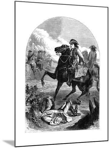 The Narrow Escape of Marlborough, 18th Century--Mounted Giclee Print