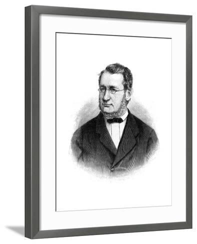 Julius Robert Von Mayer (1814-187), German Physician and Physicist, 1900--Framed Art Print