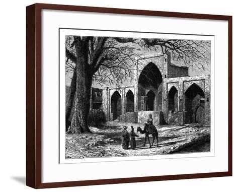The Tomb of Nadir Shah of Persia at Mecca, (1688-174), C1890--Framed Art Print