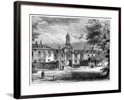 West Front of Kensington Palace, London, 1900--Framed Art Print