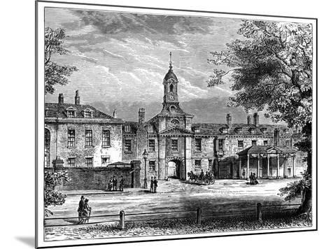 West Front of Kensington Palace, London, 1900--Mounted Giclee Print