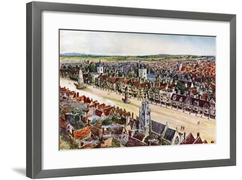 Old Cheapside, About 1580-John B Thorpe-Framed Art Print