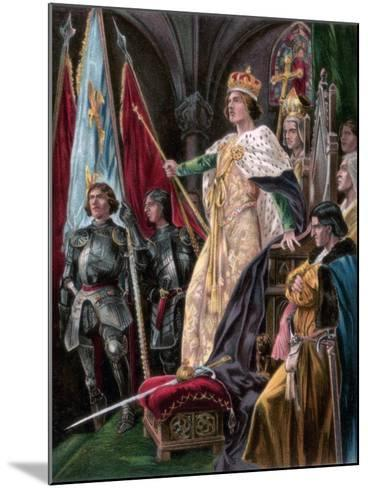 The Exhortation Addressed to Edward IV, Westminster, 29 June 1461--Mounted Giclee Print