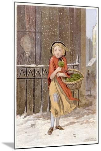 Watercress Seller, C1880--Mounted Giclee Print