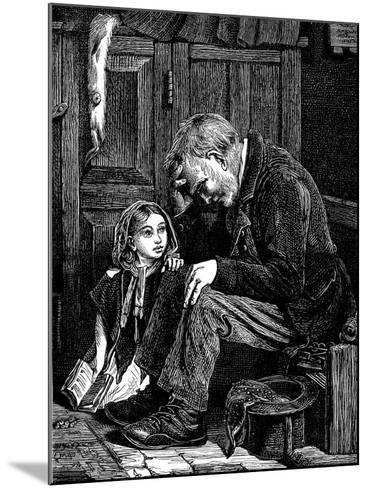 Man at Church Sitting in 'Free' Seat, London, 1872-John Emms-Mounted Giclee Print