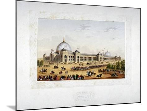 Site of the 1862 International Exhibition, Cromwell Road, Kensigton, London, 1862--Mounted Giclee Print