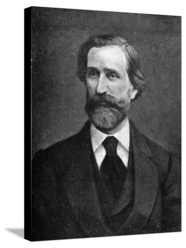 Giuseppe Verdi, Italian Composer, 1909--Stretched Canvas Print