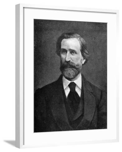 Giuseppe Verdi, Italian Composer, 1909--Framed Art Print