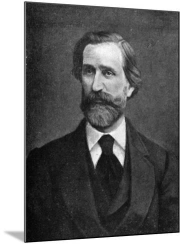 Giuseppe Verdi, Italian Composer, 1909--Mounted Giclee Print