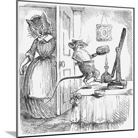 A Mouse on a Dressingtable, 1859--Mounted Giclee Print
