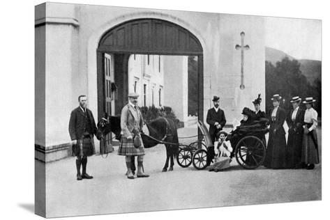 The Czars Visit to Balmoral, 1896-W&d Downey-Stretched Canvas Print