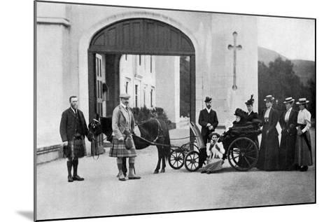 The Czars Visit to Balmoral, 1896-W&d Downey-Mounted Giclee Print
