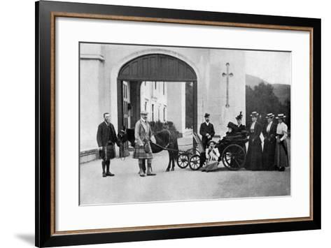 The Czars Visit to Balmoral, 1896-W&d Downey-Framed Art Print