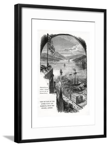 Quebec, Canada, Late 19th Century-Princess Louise-Framed Art Print