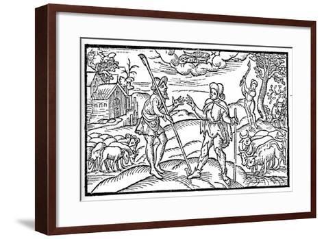February, 1597--Framed Art Print