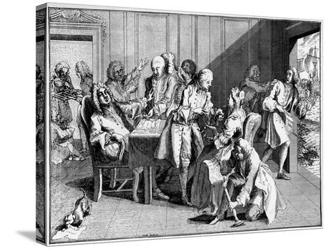 Satire on Walpole, 1738--Stretched Canvas Print
