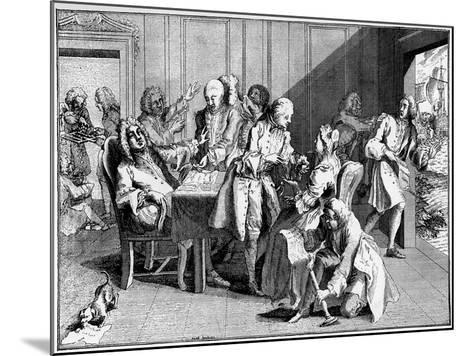 Satire on Walpole, 1738--Mounted Giclee Print