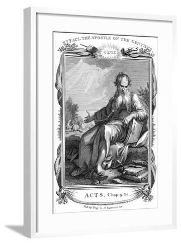 St Paul the Apostle Who Took the Christian Message to the Gentiles, 19th Century--Framed Art Print