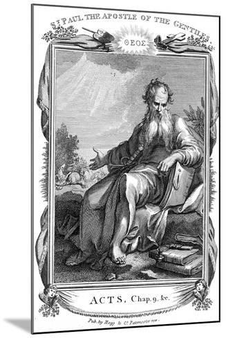 St Paul the Apostle Who Took the Christian Message to the Gentiles, 19th Century--Mounted Giclee Print