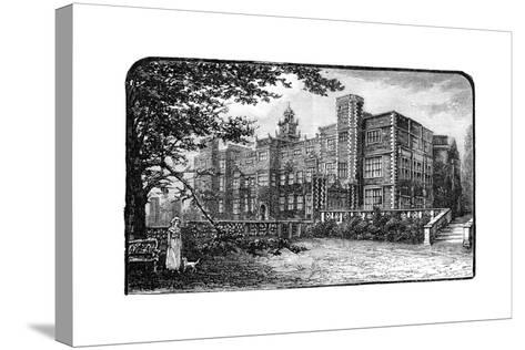 Hatfield House, Herfordshire, 1900--Stretched Canvas Print