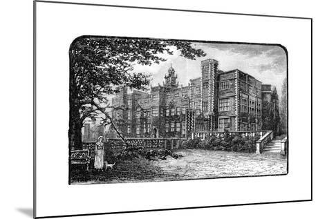 Hatfield House, Herfordshire, 1900--Mounted Giclee Print