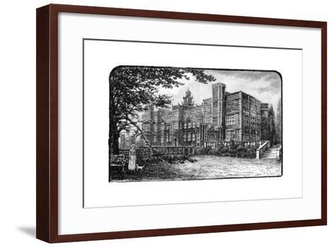 Hatfield House, Herfordshire, 1900--Framed Art Print
