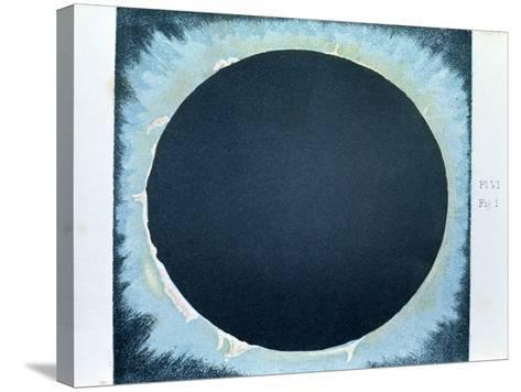 Solar Corona and Prominences 1860--Stretched Canvas Print