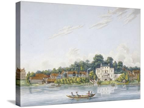 Pope's Villa, Twickenham, Middlesex, C1800--Stretched Canvas Print