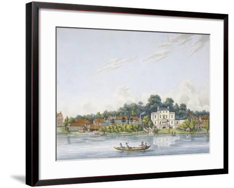 Pope's Villa, Twickenham, Middlesex, C1800--Framed Art Print