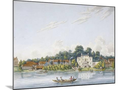 Pope's Villa, Twickenham, Middlesex, C1800--Mounted Giclee Print
