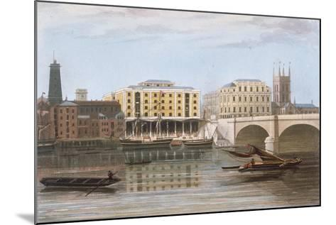 Fenning's Wharf, Bermondsey, London, C1835--Mounted Giclee Print