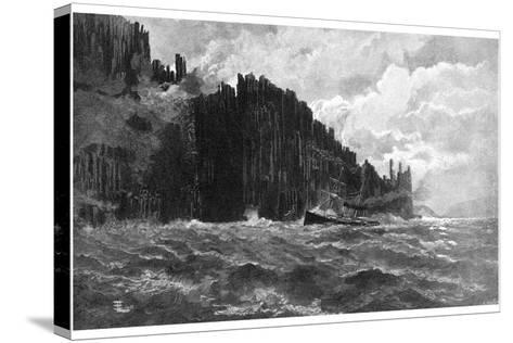 Cape Raoul, Tasmania, Australia, 1886--Stretched Canvas Print