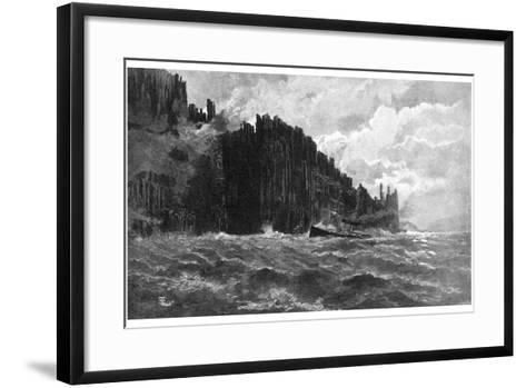 Cape Raoul, Tasmania, Australia, 1886--Framed Art Print