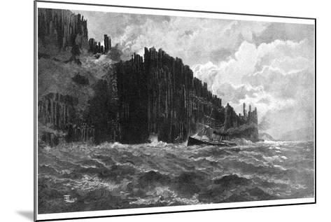 Cape Raoul, Tasmania, Australia, 1886--Mounted Giclee Print