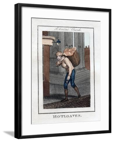 Hotloaves, St Martin's Church, London, 1805--Framed Art Print