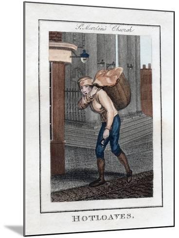 Hotloaves, St Martin's Church, London, 1805--Mounted Giclee Print