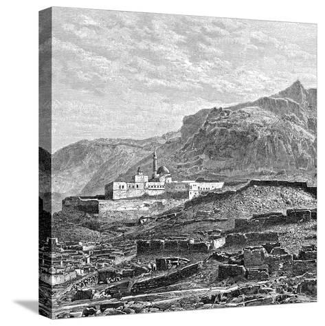The Mosque and the Ruined Quarter of Bayazid (Dogubayazi), Turkey, 1895--Stretched Canvas Print