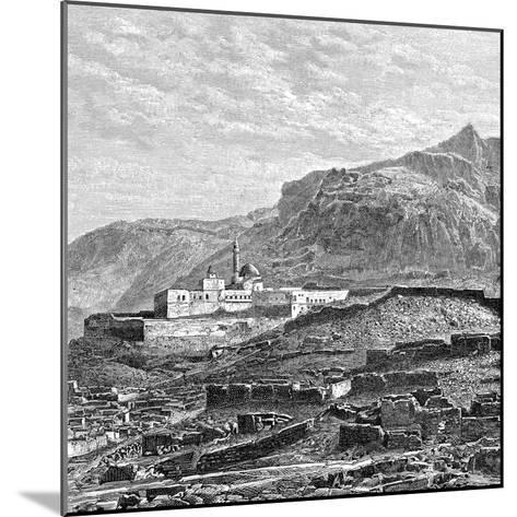 The Mosque and the Ruined Quarter of Bayazid (Dogubayazi), Turkey, 1895--Mounted Giclee Print