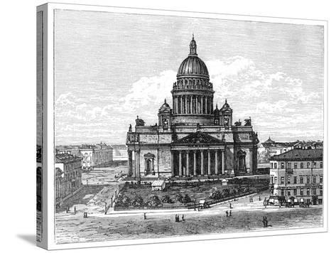 Cathedral of St Isaac, St Petersburg, Russia, 1900--Stretched Canvas Print