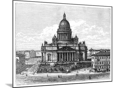 Cathedral of St Isaac, St Petersburg, Russia, 1900--Mounted Giclee Print