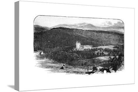 Balmoral Castle, Scotland--Stretched Canvas Print