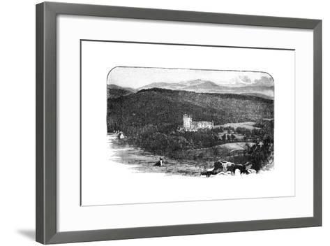Balmoral Castle, Scotland--Framed Art Print
