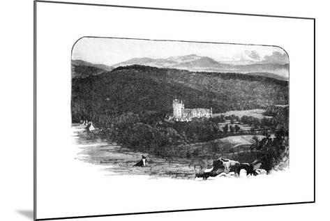 Balmoral Castle, Scotland--Mounted Giclee Print